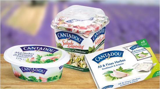 Cantadou ist ein cremiger Doppelrahm-Frischkäse aus Frankreich – verfeinert mit Kräutern und anderen Zutaten. Die einzigartigen Geschmacksrichtungen der Frischkäse-Produkte …