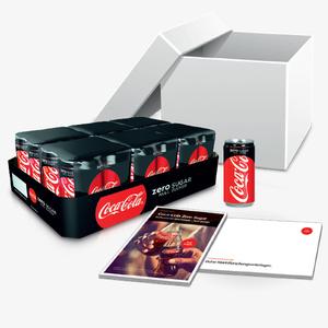 Das Coca-Cola Zero Sugar - Null Zucker Startpaket.