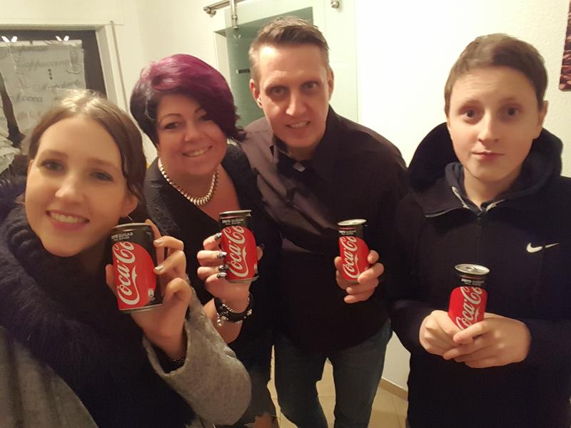 Coca-Cola Zero Sugar - Null Zucker.
