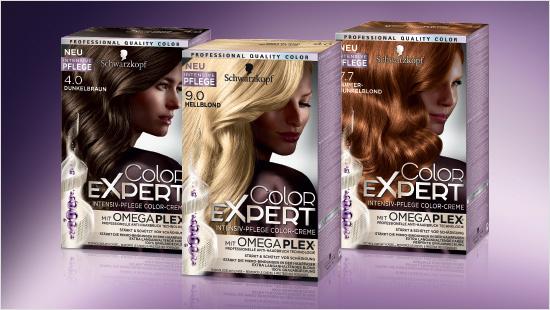 Die neuen Color Expert Colorationen von Schwarzkopf enthalten die innovative Omegaplex-Technologie, die ihren Ursprung in den Friseursalons hat.
