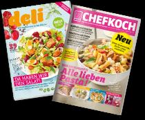sind von den Kochmagazinen DELI & CHEFKOCH überzeugt (DELI: 93%, CHEFKOCH: 96%).