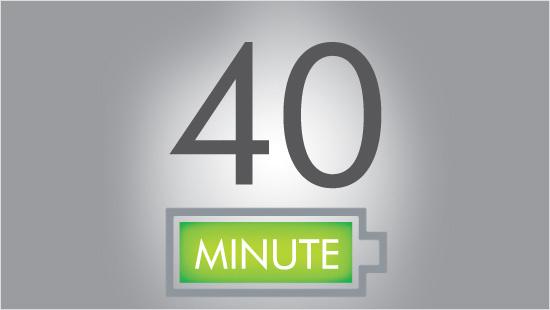 Dyson hat bei diesem Modell den Wunsch der trnd-Partner aus dem letzten Projekt umgesetzt und die Akku-Laufzeit verlängert: Sie beträgt nun bis zu 40 Minuten.