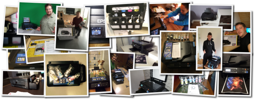 Epson EcoTank Collage