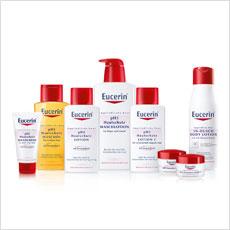 Eucerin pH5 Hautschutz Produkte