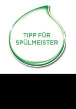 Tipp für Spülmeister