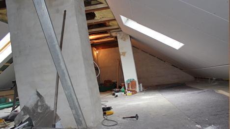 Ein fischer DUOPOWER-Projekt von trnd-Partnerin Ziegelsteinchen: Die Komplettsanierung des Dachbodens.
