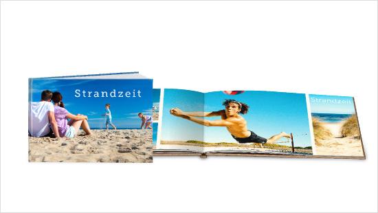 """Stellvertretend für die gesamte Community werden 2.000 trnd-Partner mit eigenen Bildern ein """"echtes Fotobuch<sup>®</sup>"""" in einer von zwei DIN A4 Hardcover-Varianten gestalten."""