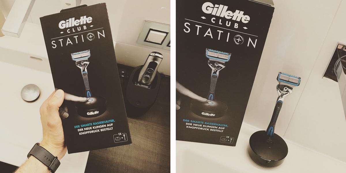 """Gillette sagt """"Danke!"""" für Euer Feedback und Eure Ideen."""