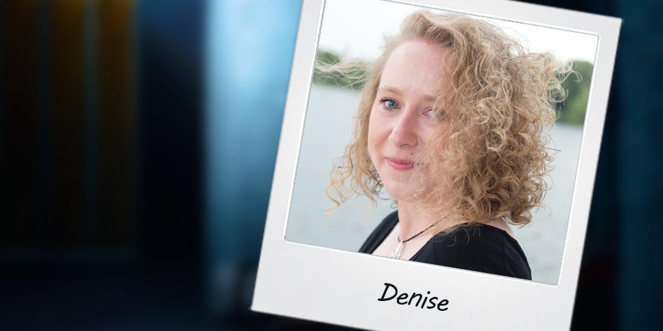 Unsere Ansprechpartnerin bei Hansaplast: Denise.