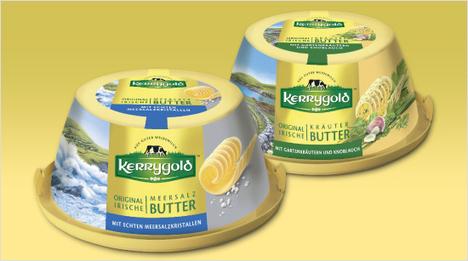 … gesalzene Butter, die mit Meersalz-Kristallen verfeinert ist. Gartenkräuter und Knoblauch geben der Sorte Kerrygold Kräuter-Butter ihren aromatischen Geschmack. Eine weitere …