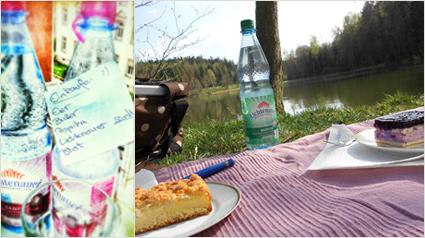 Lichtenauer Mineralwasser auf der Einkaufsliste von trnd-Partnerin Puderzuckerflocke.