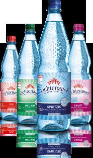 98& der Teilnehmer würden das Lichtenauer Mineralwasser an ihre Freunde weiterempfehlen.