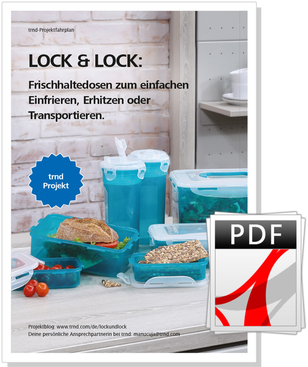 Der LOCK & LOCK Projektfahrplan.
