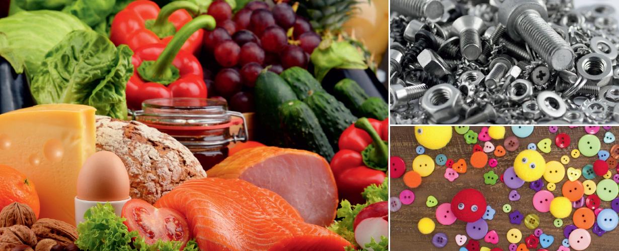 Die Frischhalteboxen für das einfache Mitnehmen, Einfrieren und Erhitzen von Lebensmitteln eignen sich auch für viele Gegenstände des alltäglichen Lebens.