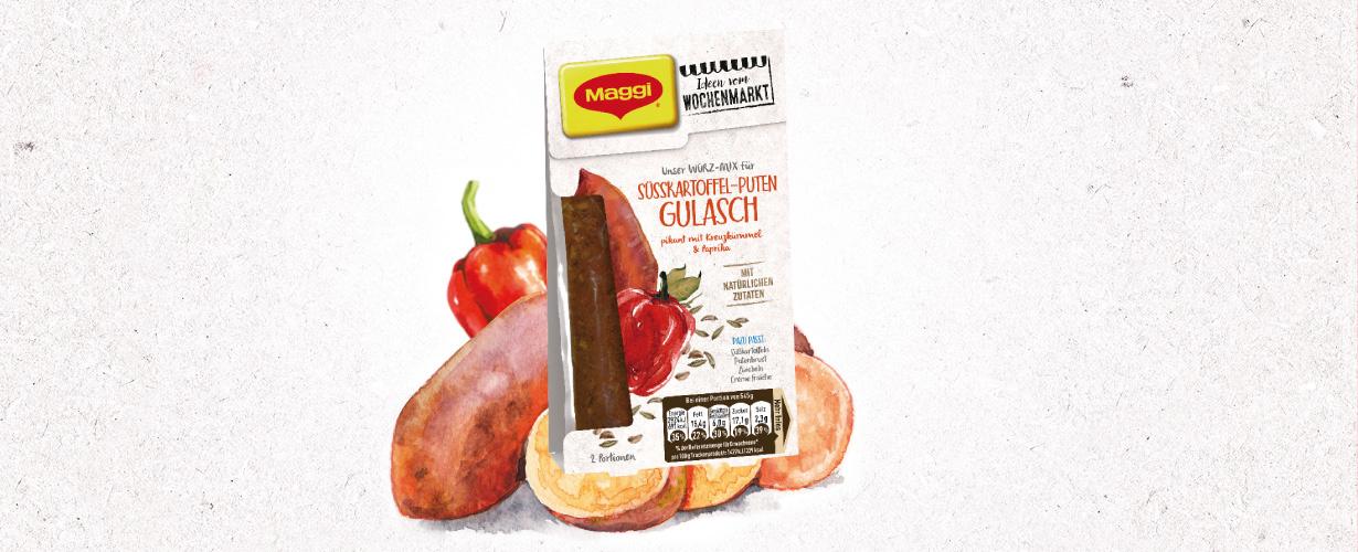 Die MAGGI Würz-Mixe mit trockenen Zutaten sind ideal für alle, die klassische Gerichte  lieben …