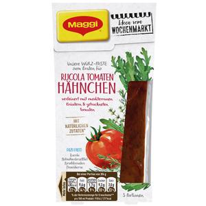 MAGGI Ideen vom Wochenmarkt Rucola-Tomaten-Hähnchen