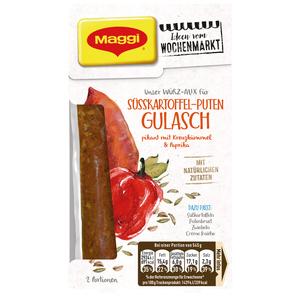 Würz-Mix Süßkartoffel-Puten-Gulasch