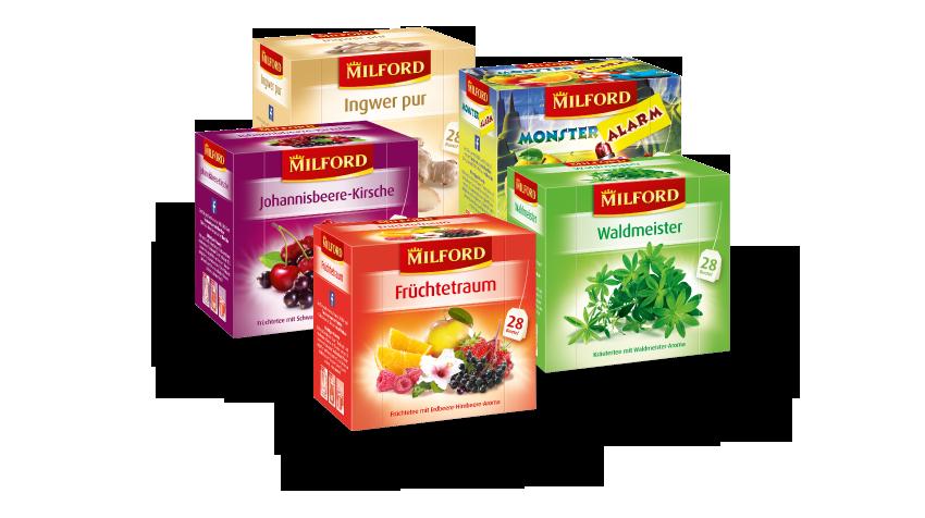 Die MILFORD Teevielfalt