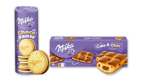 … Milka ChocoPause und Milka Cake & Choc. Die Keks- und Kuchenrezepturen bieten Abwechslung für Groß und Klein: egal ob …