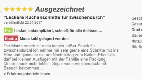 Aber auch auf Produktbewertungsplattformen wie z.B. ciao.de sind unsere Erfahrungen gefragt!