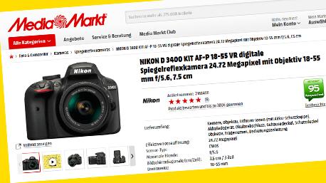 Die ausführlichen Onlinereportagen und kurzen Fazits helfen auf Produktbewertungsplattformen, wie Mediamarkt.de, ...