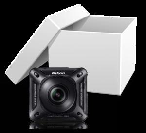 Nikon KeyMission 360 im trnd-Projekt.