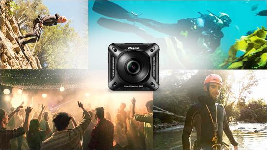 Nikon KeyMission im trnd-Projekt.