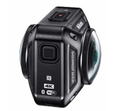 Nikon KeyMission 360 von der Seite.