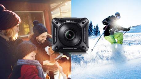 Viele schöne Momente festhalten mit der Nikon KeyMisson 360.