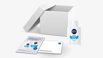 Nivea Men Startpaket für das trnd-Projekt