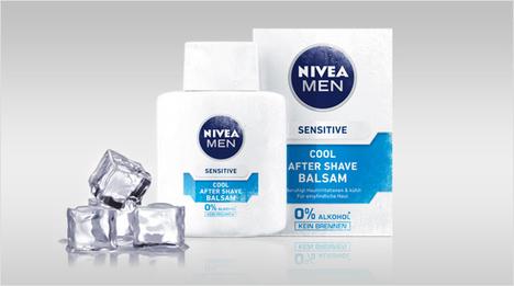 Neu von Nivea Men: Der Sensitive Cool After Shave Balsam beruhigt Hautirritationen und kühlt die Haut nach der Rasur. Durch die ...