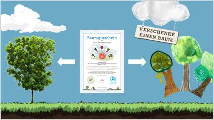 baum verschenken mit plant for the planet. Black Bedroom Furniture Sets. Home Design Ideas