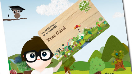 Plant-for-the-Planet Tree Card