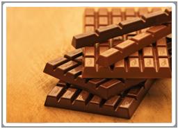 Reine Schokolade.