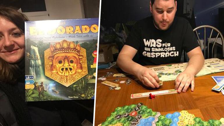 El Dorado - Die Startpakete kommen an