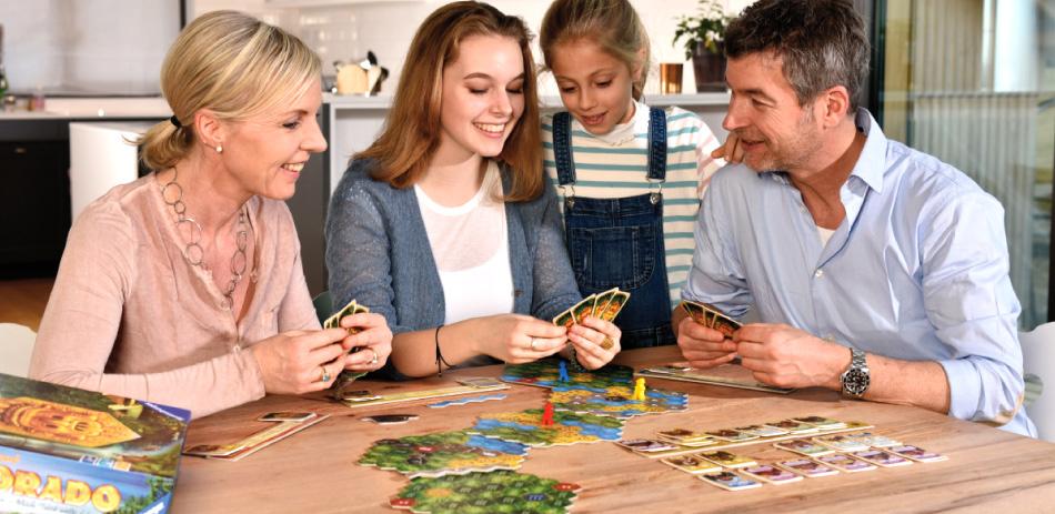 In dem Strategiespiel werden Erwachsene und Kinder ab zehn Jahren zu Expeditionsleitern und versuchen, das legendäre Goldland als Erste zu erreichen.