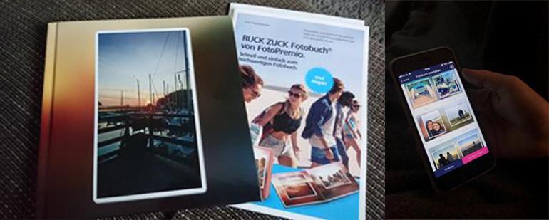 Unser erster Eindruck vom RUCK ZUCK Fotobuch®.