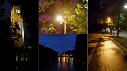 Fotos aufgenommen mit dem Nachtmodus der GALAXY K zoom.