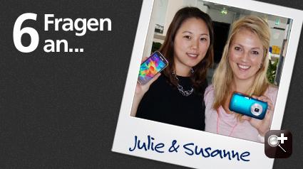 Unsere Ansprechpartnerinnen bei Samsung.