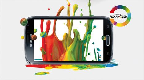 Das 12,19 cm HD Super AMOLED-Display bietet ein eindrucksvolles und lebendiges Seherlebnis.