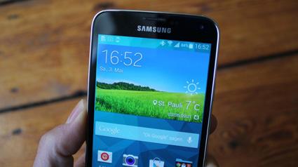 Viel zu bieten: Das Samsung Galaxy S5