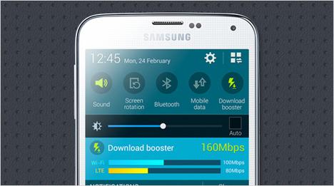 … Kombination von LTE & WLAN – der sogenannte Download Booster – sorgt für unglaublich hohe Datenübertragungsraten. Weiterhin unterstützt …