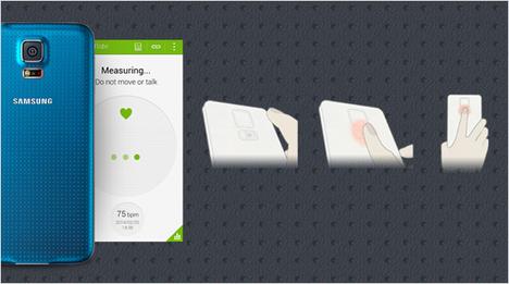… das Samsung GALAXY S5 Deinen aktiven Lebensstil durch eine Fitness-Tracker-Funktion, Pulsmesser und Schrittzähler. Beim Fitbleiben hilft Dir ebenfalls …