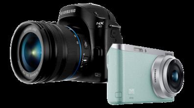 Samsung Smart Cameras NX30 und NX mini