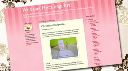 Bloggerin Ninchen19831 berichtet auf ihrem Blog online über Christina Aguilera WOMAN.