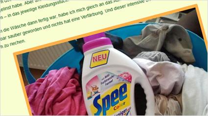 """trnd-Partnerin cybermaus berichtet auf ihrem Blog von ihren Erfahrungen mit Spee Color """"Einfach Weniger Sortieren""""."""
