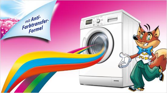 ... dank der Anti-Farbtransfer-Formel werden beim Waschen bunter Kleidung Farbübertragungen gezielt vermindert. Neben strahlend sauberer Wäsche und leuchtenden Farben …