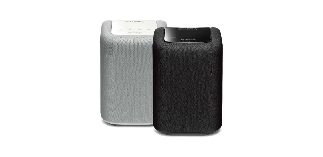Der kompakte Netzwerklautsprecher WX-010 bietet kabellosen Musikgenuss im ganzen Zuhause.
