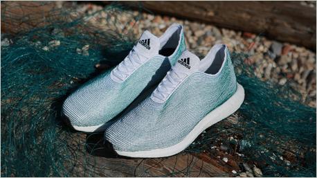 Adidas x Parley - Sportschuh aus Plastikmüll.