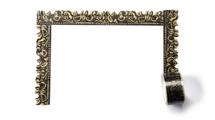Barocker bilderrahmen selbst gemacht for Barock spiegel selber machen